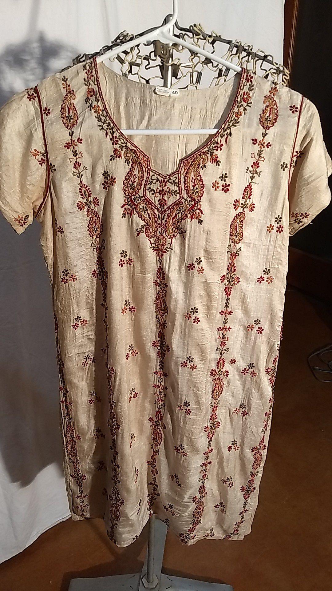Silk India Top