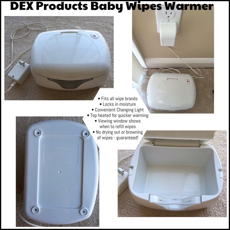 Wipes Warmer - pampers wipes included