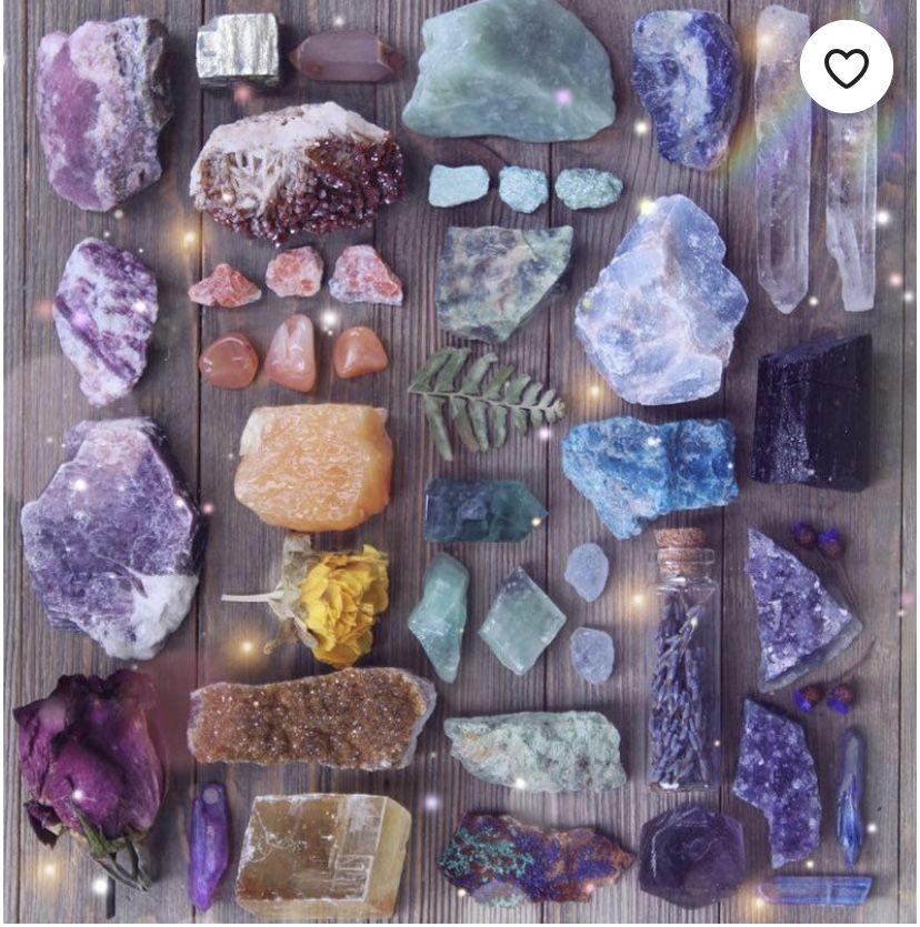 Crystal healing Amethyst Crystals