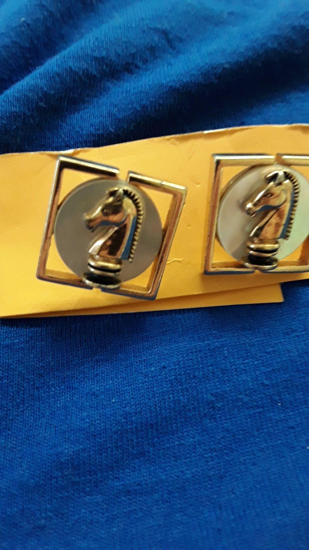 Vintage 1960s cuff links