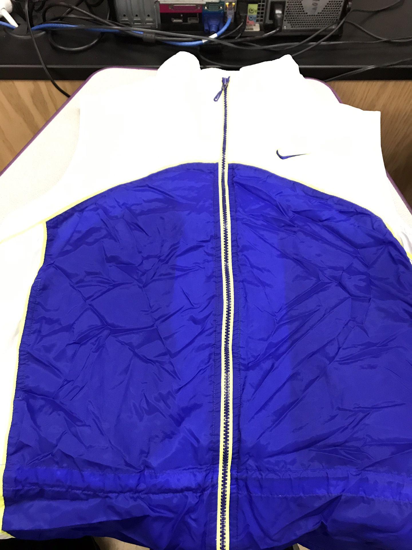 Nike vintage windbreaker vest L-XL