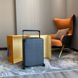 Louis Vuitton Horizon 50 55 Black Brown Monogram Damier Canvas Rolling Luggage Travel Lock Code Bag Duffle M23002 M23209 Thumbnail