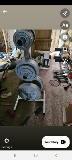 Olympic complete weight set Thumbnail