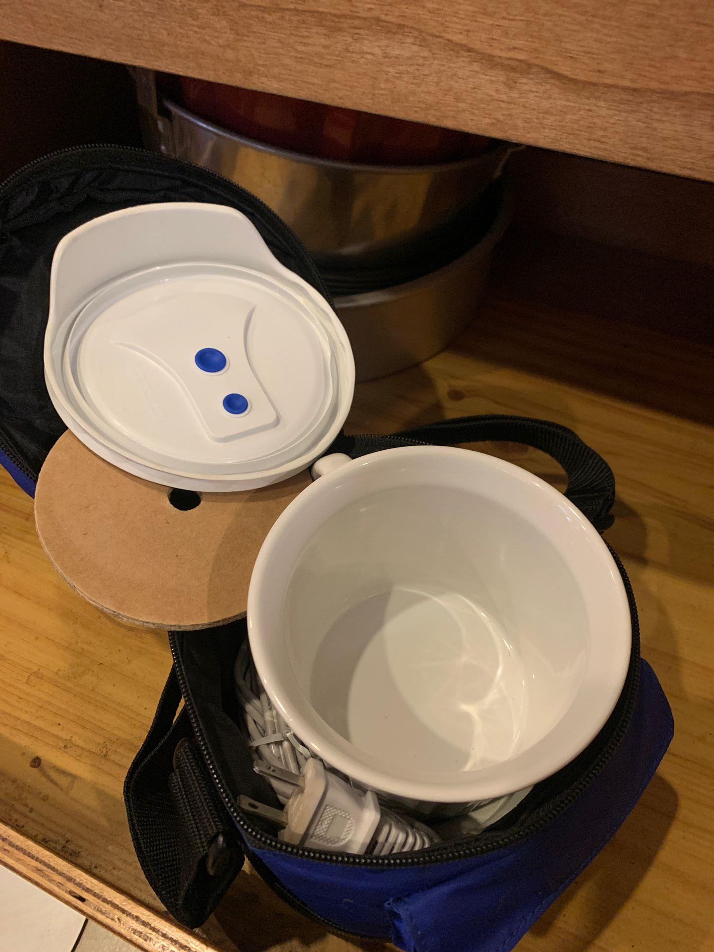 Corningware warmer