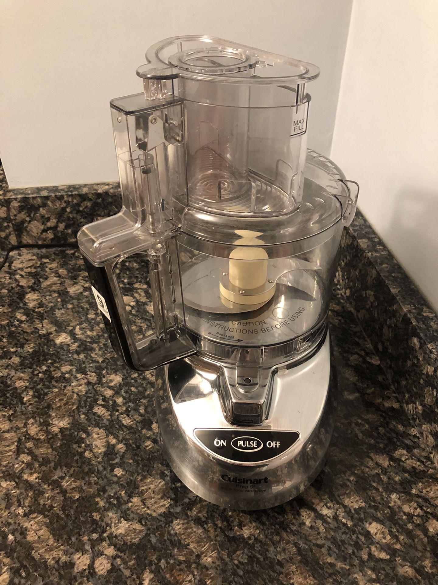 Cuisinart 9 cup food processor