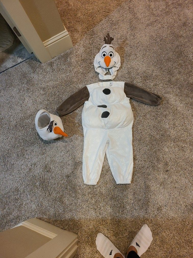 2T Olaf Costume