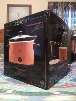 6 piece Eco Chef copper cookware set Thumbnail