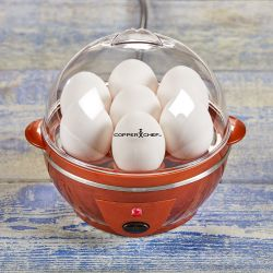 Copper Chef Perfect Egg Maker, 14-Egg Capacity New Thumbnail