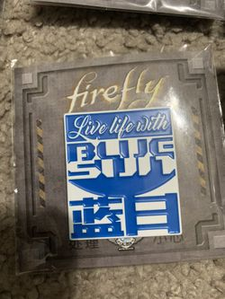 Lot Of Firefly Branded Pins Thumbnail