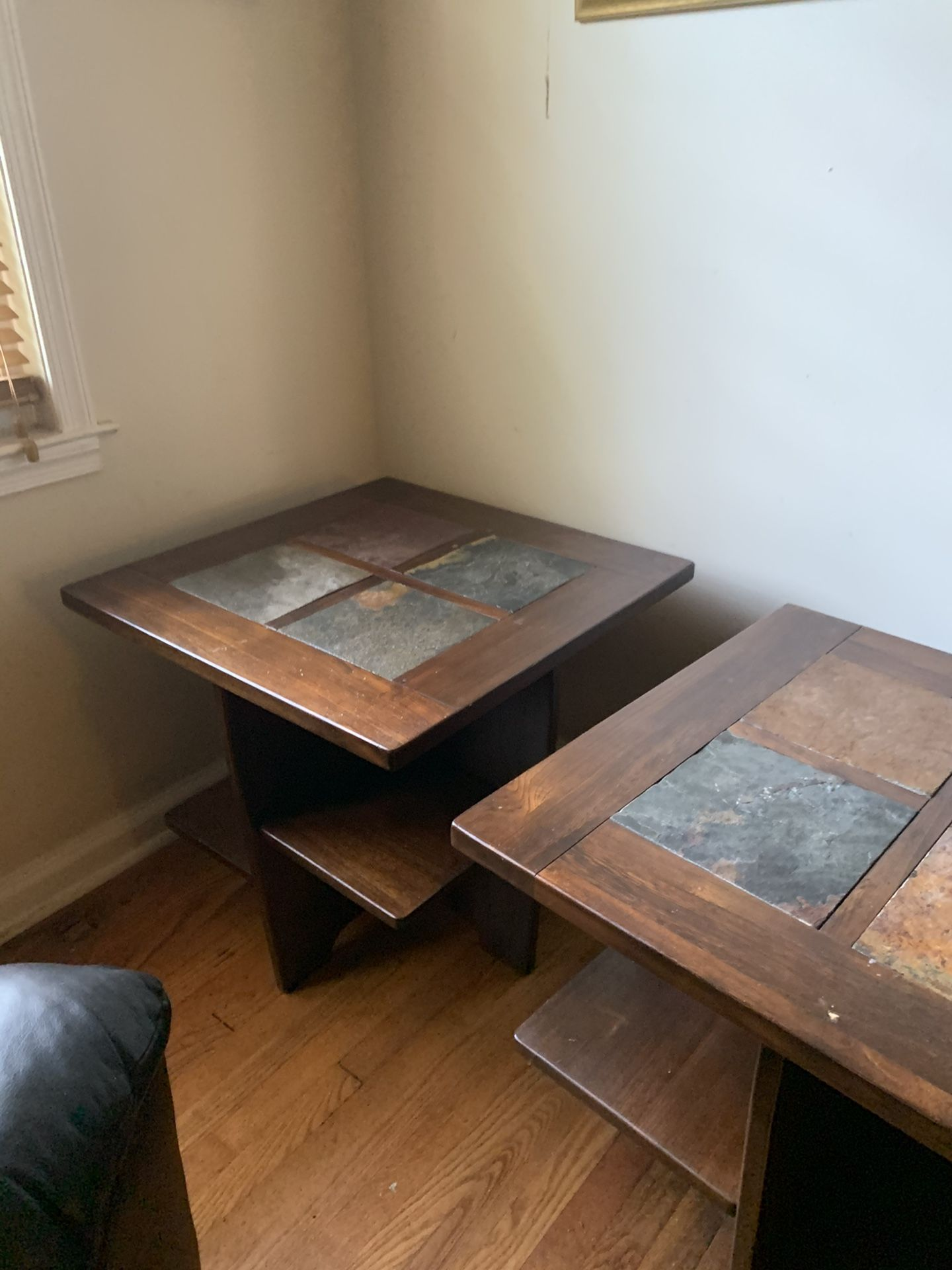 Three Tables And Two Lamps