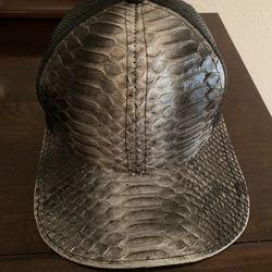 Genuine Python & Fishnet Cap Thumbnail