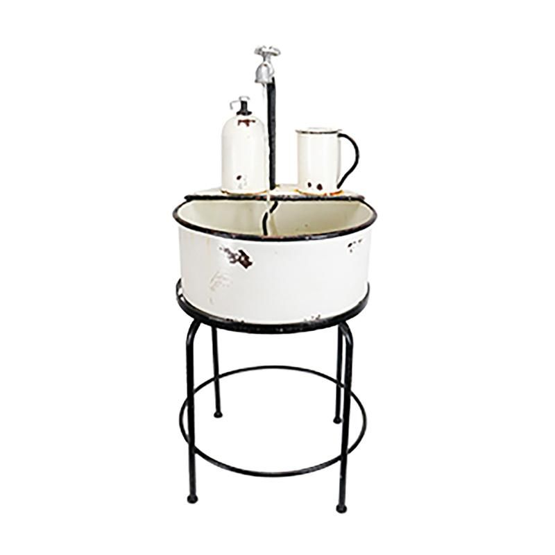 """FOUNTAIN SINK 34""""H - Case Of: 1;"""