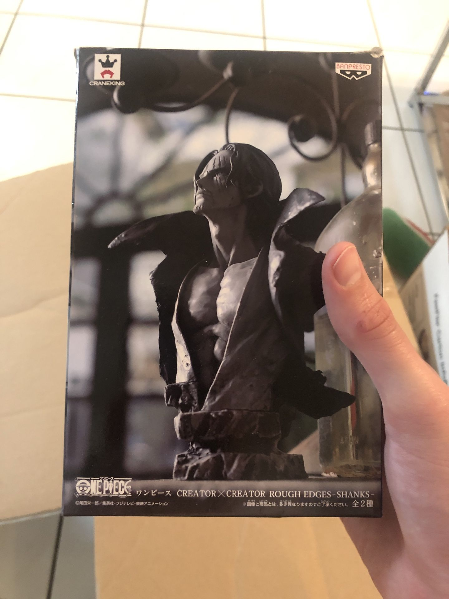 One Piece anime figures viewing