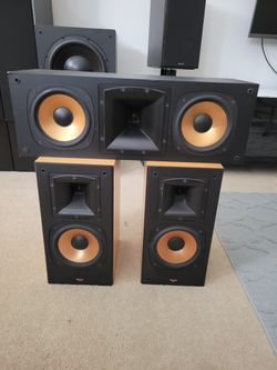 Klipsch Rb-3 And Rc-3 With Rs-3 Speakers  Thumbnail