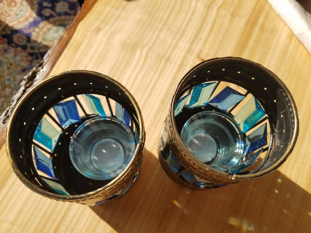 New with tag candle tealight holders