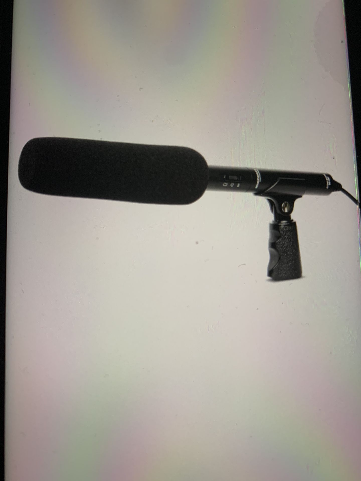 Marantz condenser camera microphone