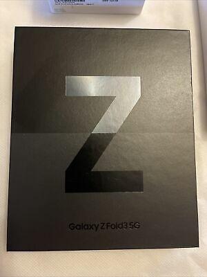 Galaxy Z Fold3 5G Black 512GB***Galaxy buds2 Black***Leather Flip Cover