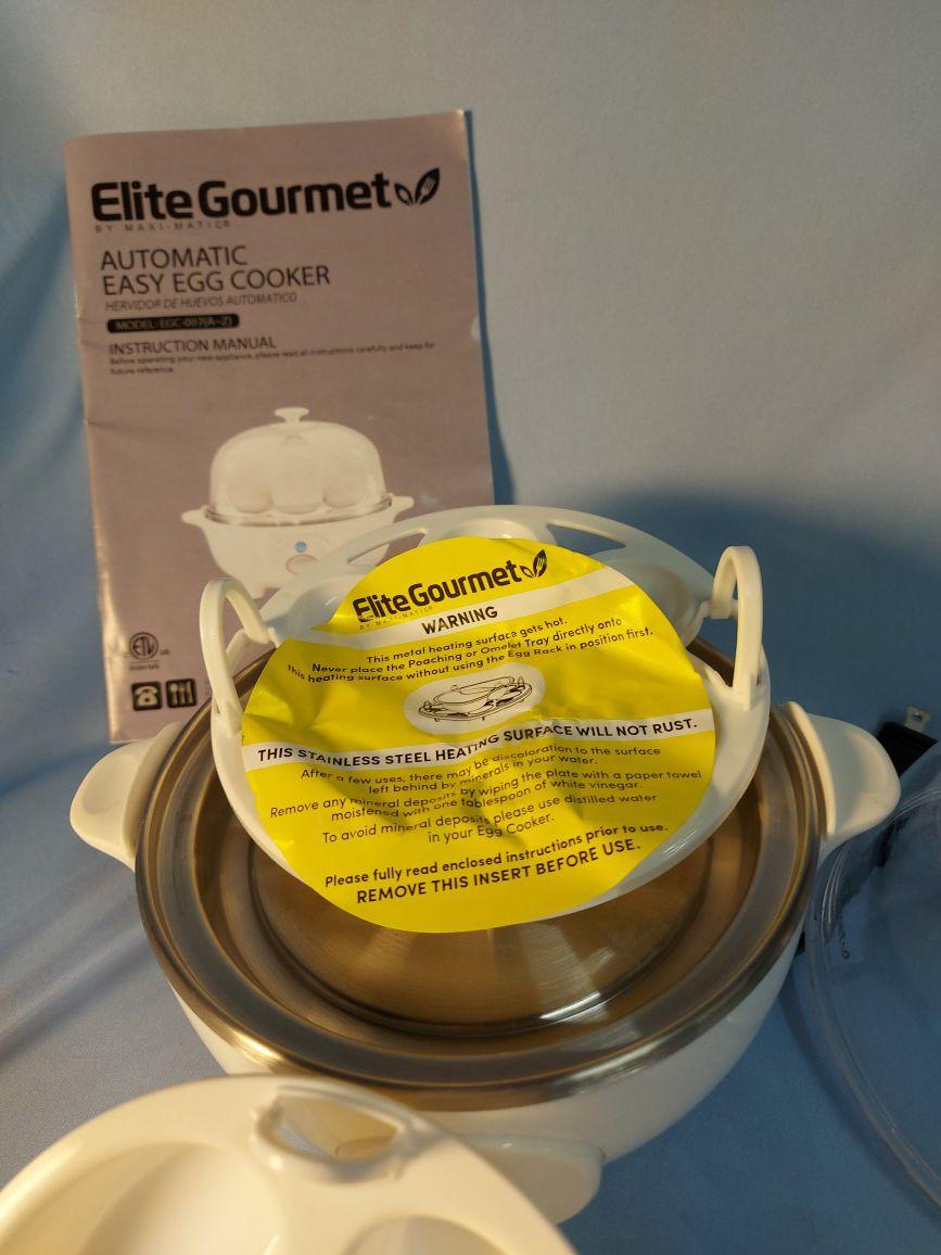 Elite egg cooker