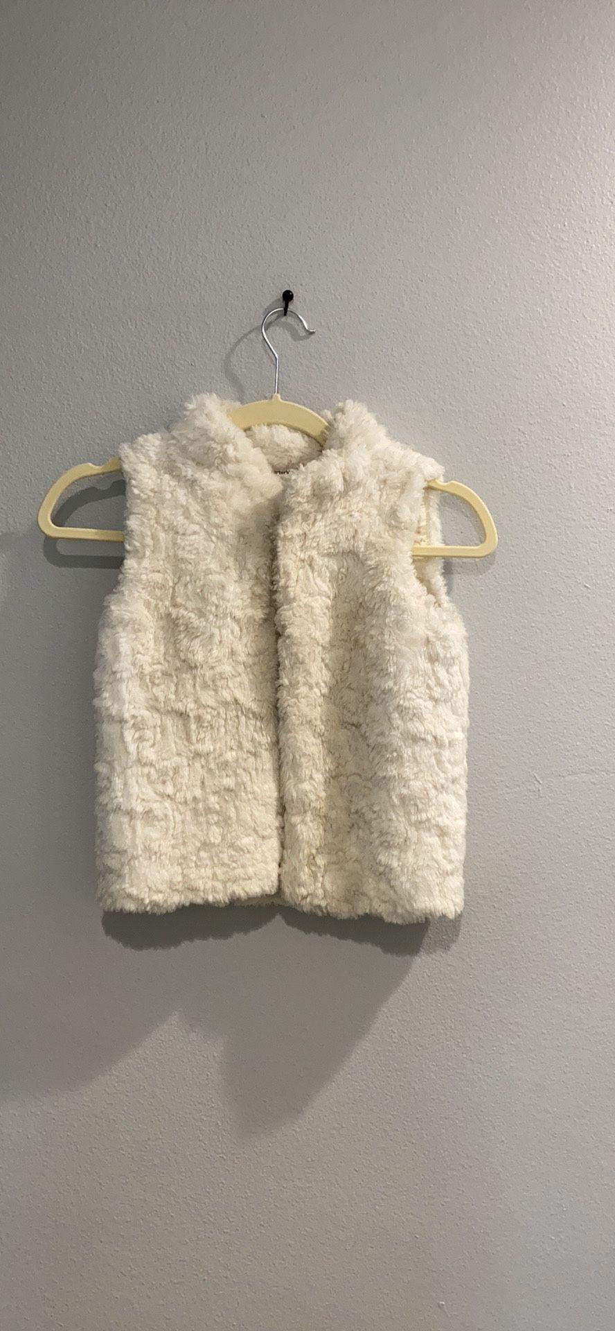 Girls Faux Fur Vest