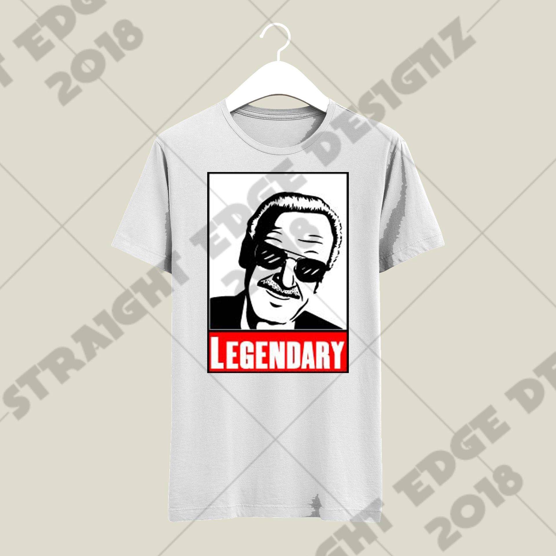 Custom made Stan lee tribute shirt