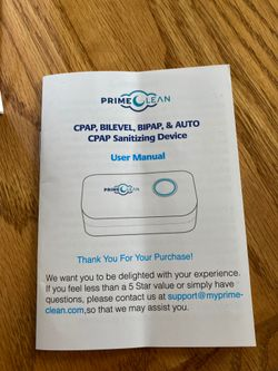 Cpap cleaning device~ Prime Clean Thumbnail
