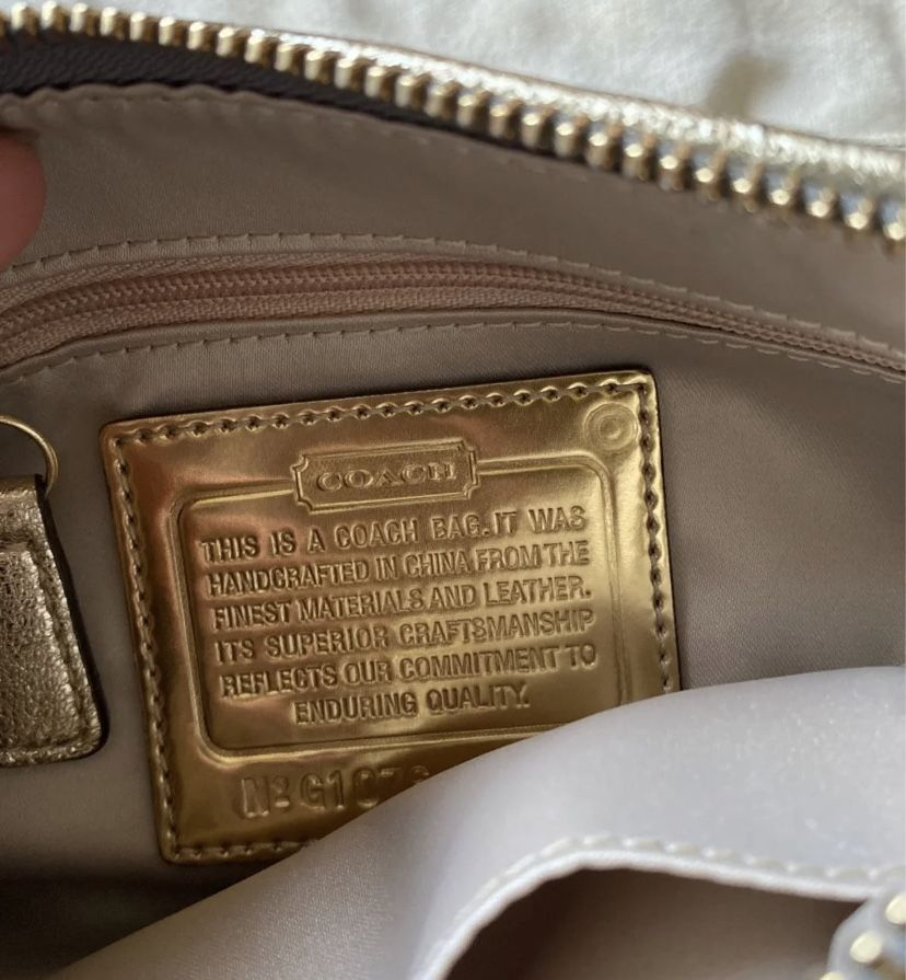 2000's Coach Bag In New Condition