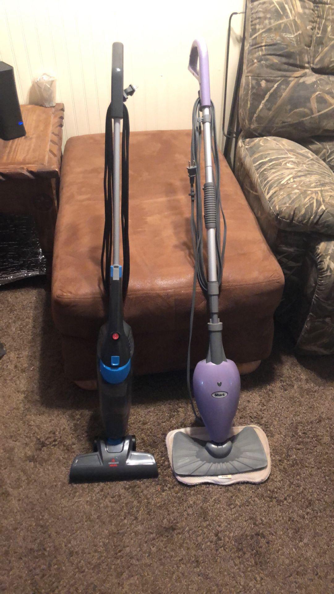 ShopVac , steam mop, vacuum cleaner