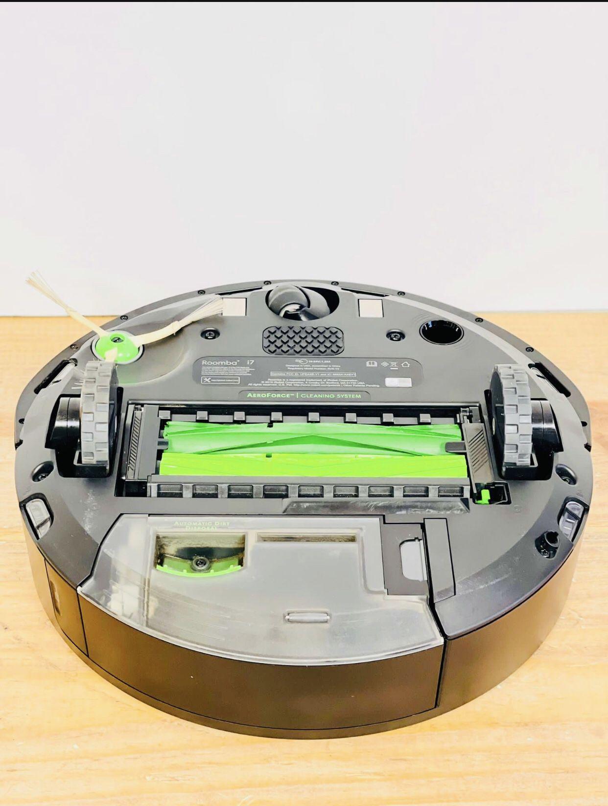 I Robot Romana i7 Self Cleaning Robot Vacuum