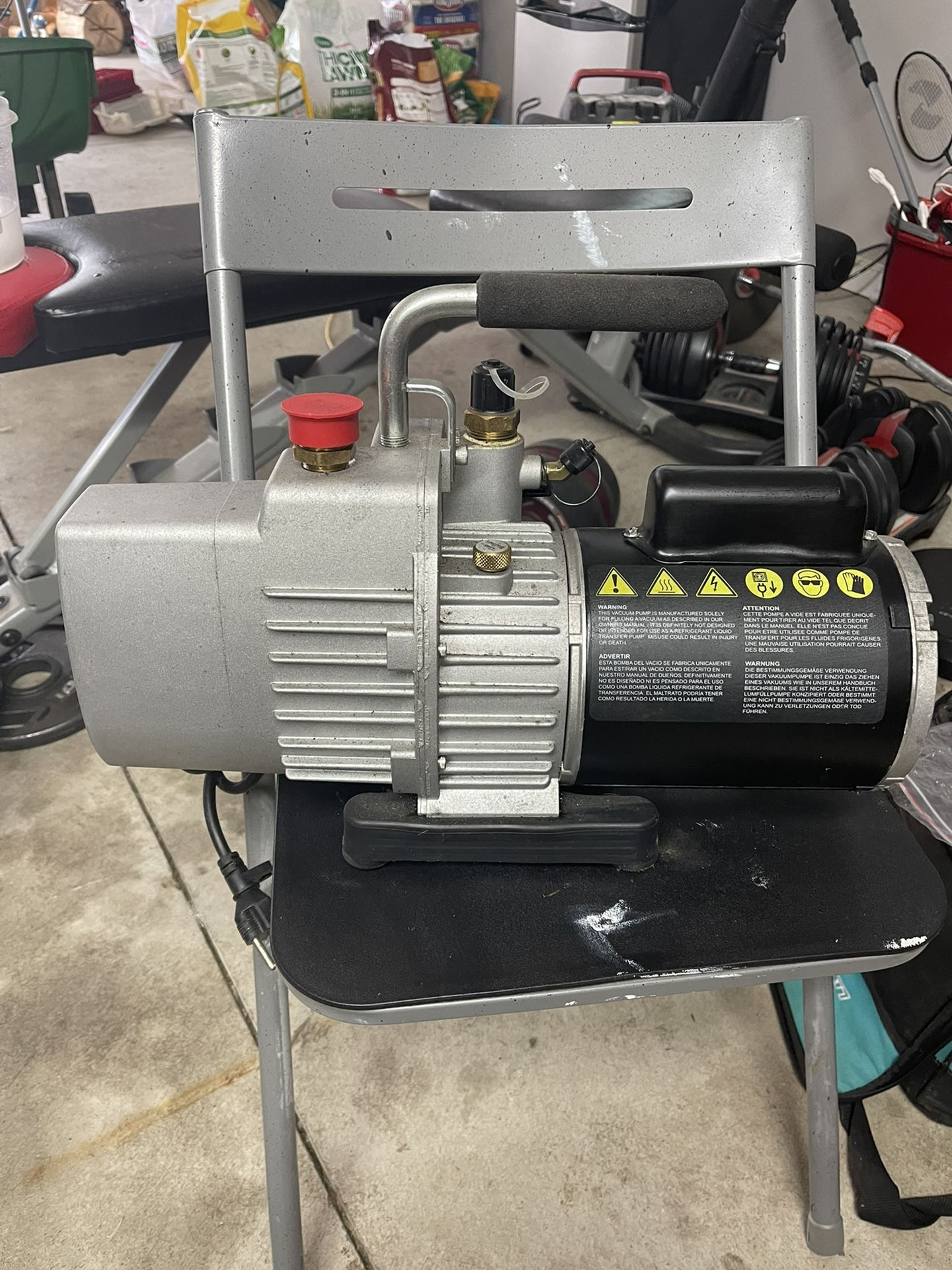 Yellow Jacket SuperEvac 8cfm Vacuum Pump