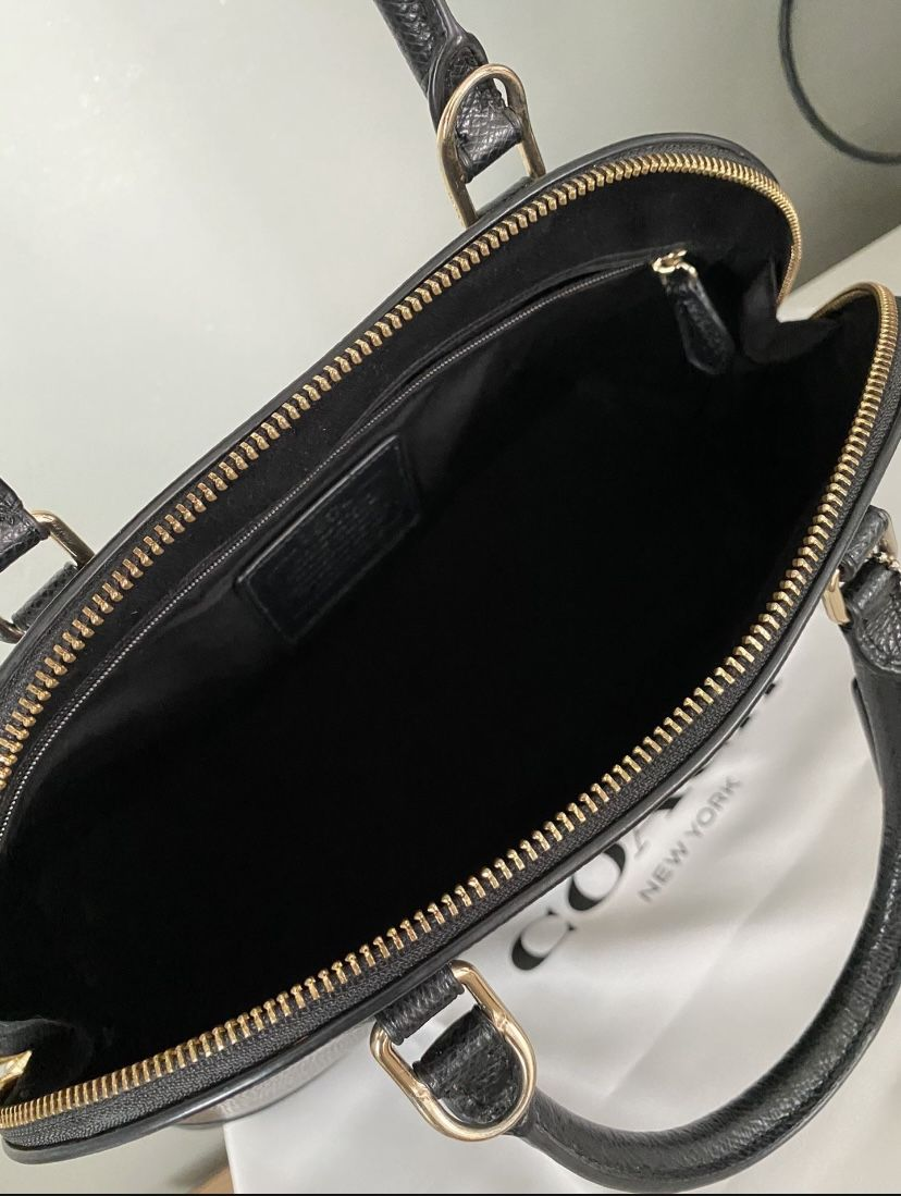Coach Large Sierra Satchel With Matching Wallet