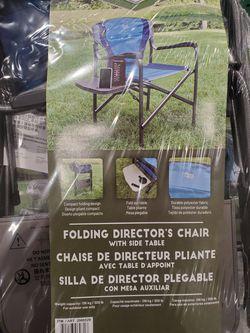 Folding Director Chair Ergo Frame Thumbnail