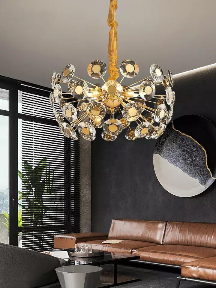 Luxury Crystal LED Chandelier
