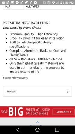 Radiator and AC Condenser Thumbnail