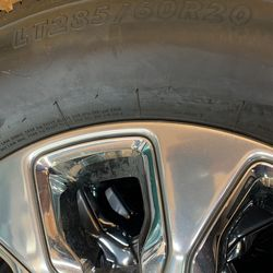 """20"""" Dodge Ram Limited Tire And Wheel OEM Cummins 2(contact info removed) Thumbnail"""