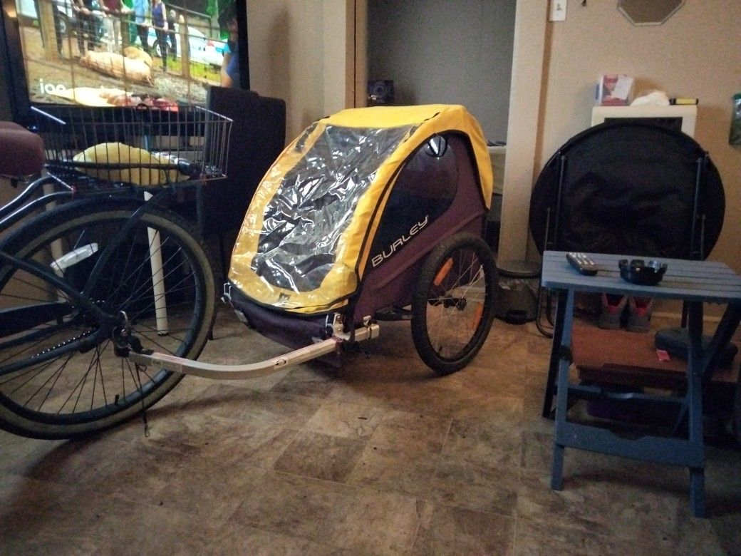 BURLEY (BEE) Bicycle Trailer The Biggest One Burley Offers