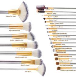 VANDER LIFE 24pcs Premium Cosmetic Makeup Brush Set Thumbnail