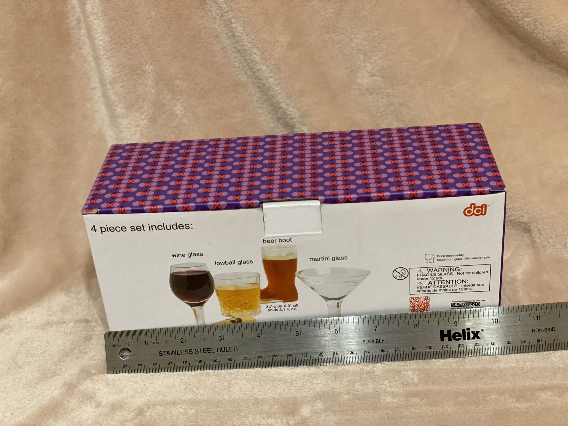 NEW Mini cocktail glasses: set of 4