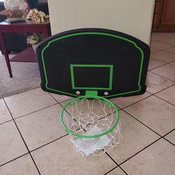 "Mini Basketball Backboard And Hoop 30""X22"" Thumbnail"