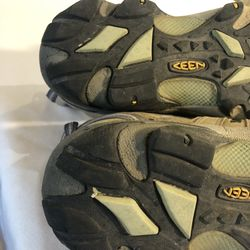 KEEN Women's Voyageur Brown Leather Hiking Trail Shoes Boots Size 8 1004270 Thumbnail