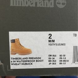 Size 2 Timberland Boots Never Worn  Thumbnail