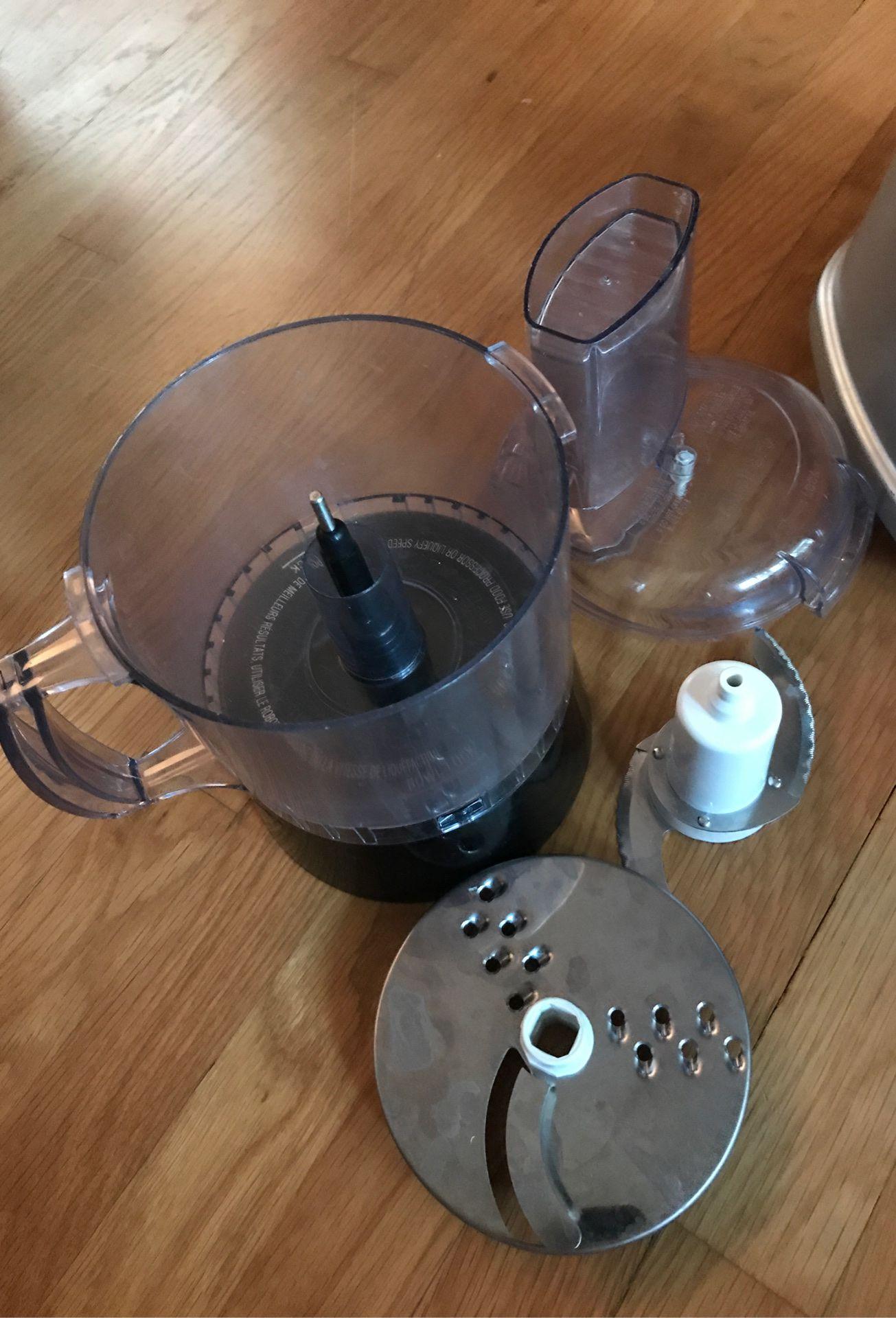 Cuisinart CB-600FP blender food processor