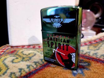 American Spirit Zippo Rare Thumbnail