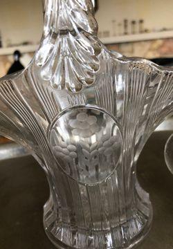 Glass basket Thumbnail