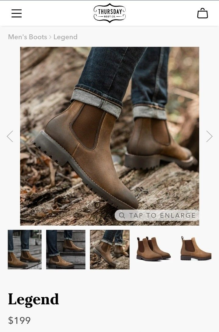 Men's Boots ~Thursday Boot Co.™ ~ NEW IN BOX!!!