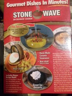 Stone Wave Microwave Cooker Thumbnail