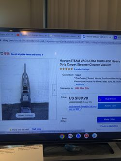 Hoover Steam Vac Thumbnail