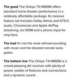 Onkyo 5.1.2 Amplifier  Thumbnail