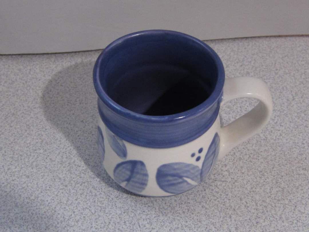 5 Pfaltzgraff villa flora mugs.