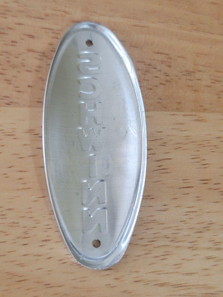 Vintage Schwinn Head Badge