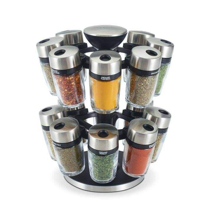 Spice Jar & Rack